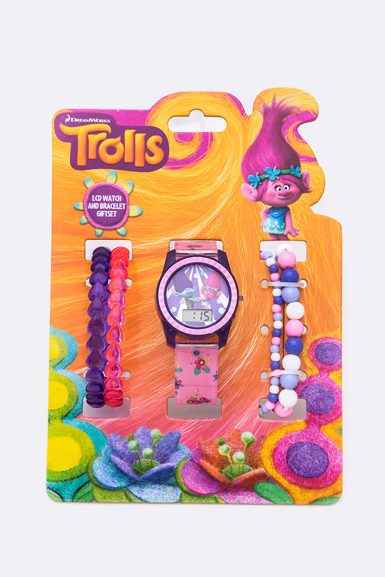 Troll License Watch Bracelet Set
