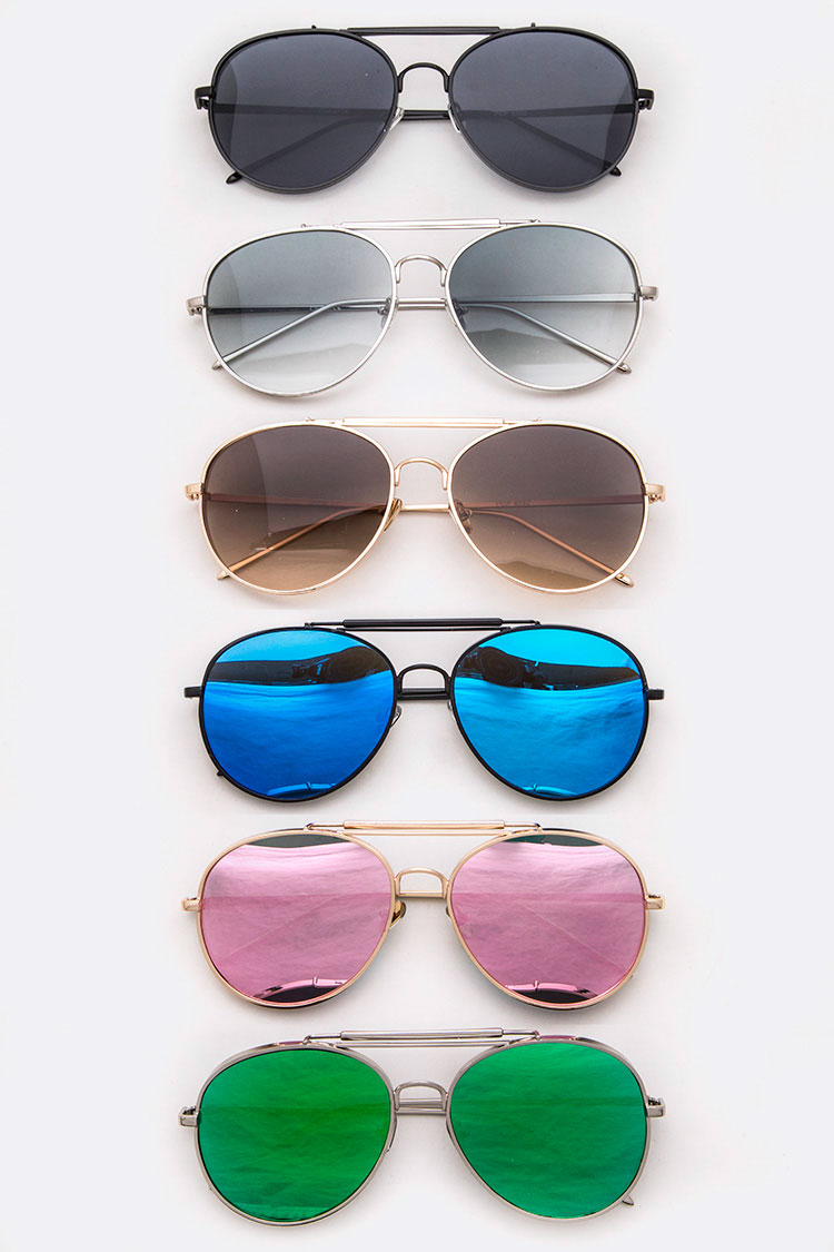Aviator Mix Tint Sunglasses