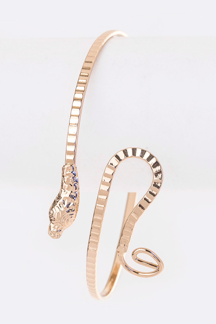 Iconic Snake Arm Cuff