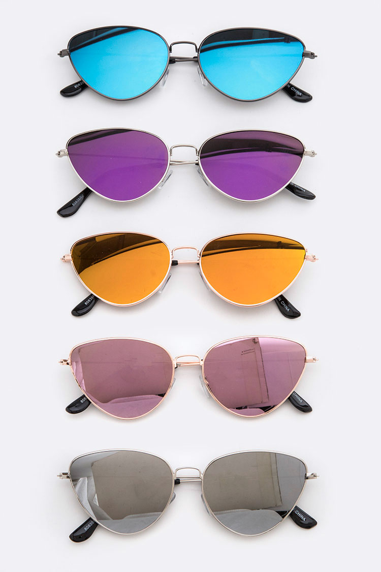 Iconic Mirror Tinted Sunglasses