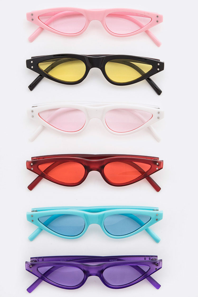 Color Lens Iconic Sunglasses