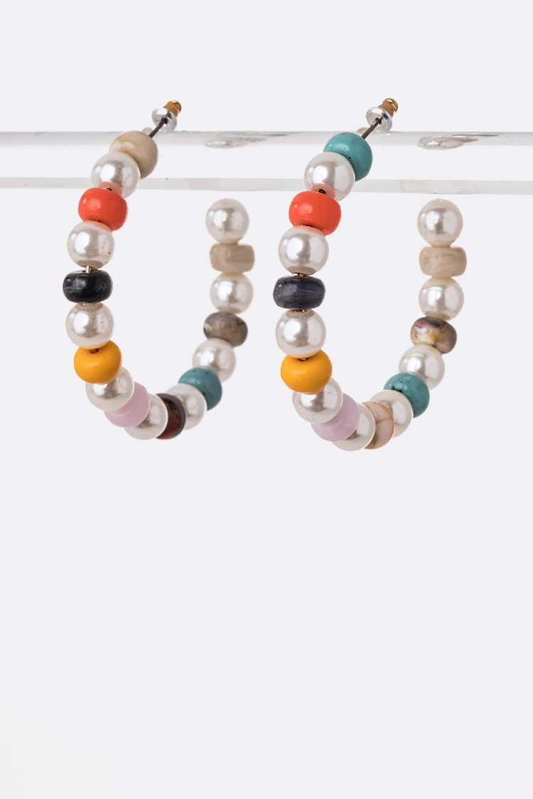 Mix Beads Iconic Hoops