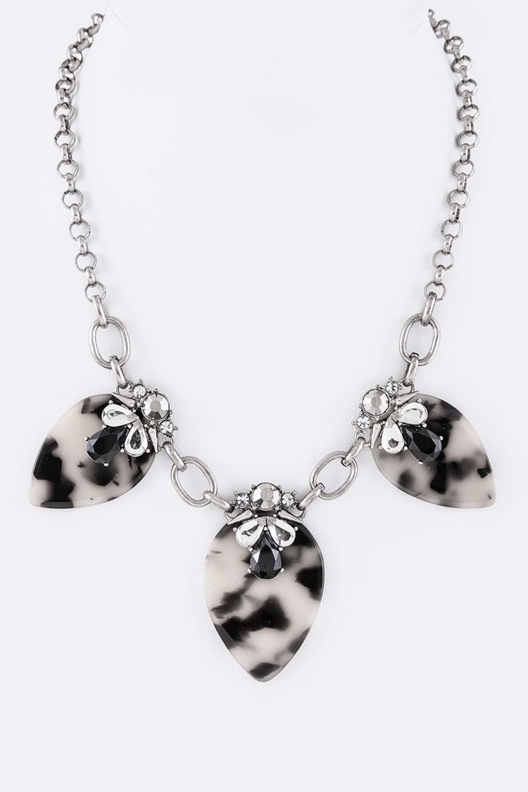 Celluloid Patel Iconic Necklace Set