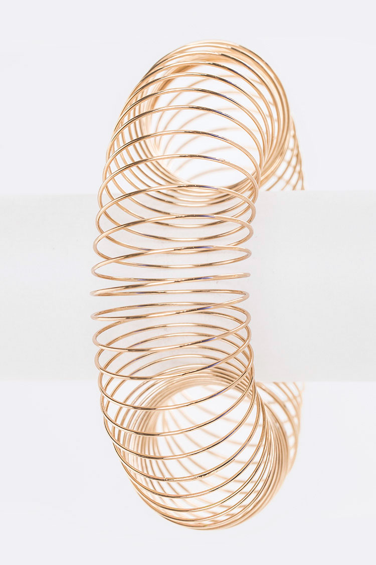 Ring Spiral Iconic Stretch Bracelet
