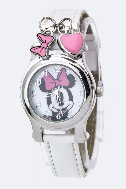 Minnie Charmed Fashion Watch