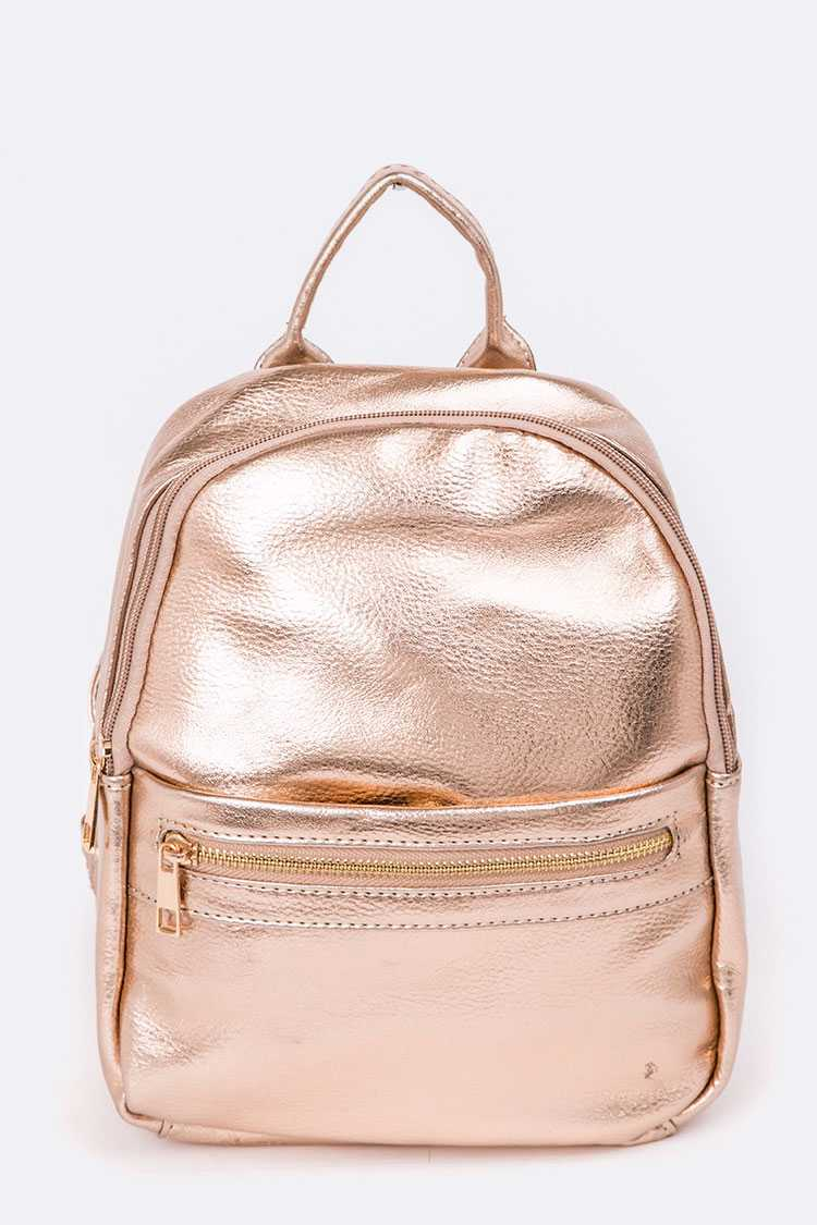 Grain Leather Fashion Back Pack
