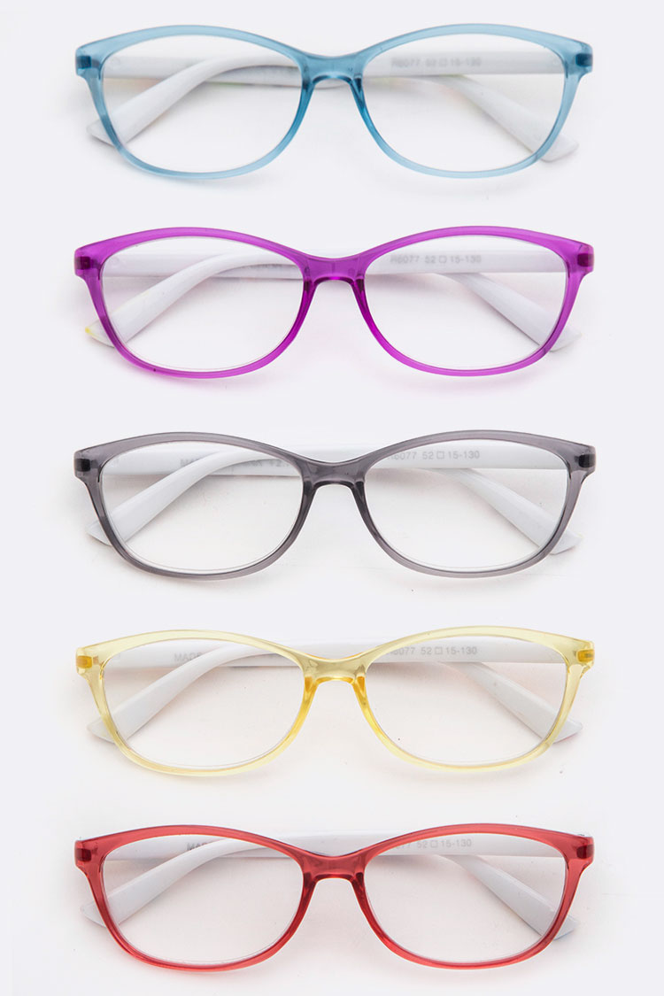Classic Color Frame Reading Glasses Sset
