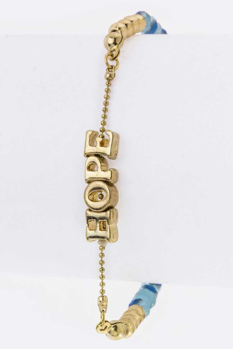 HOPE Stretch String Bracelet