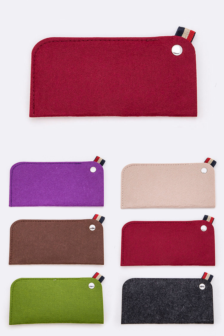 Felt Glasses Case Set