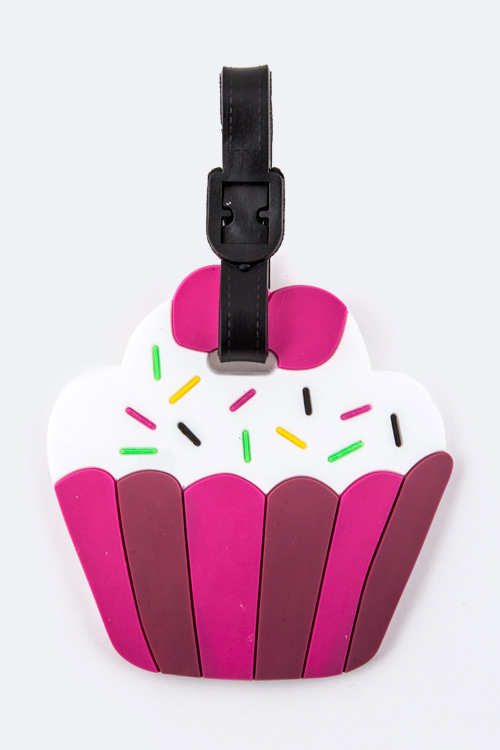 Cupcake Jelly Bag & Luggage Tag