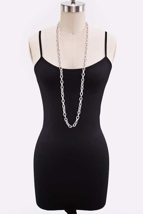 Convertible Textured Chain Belt
