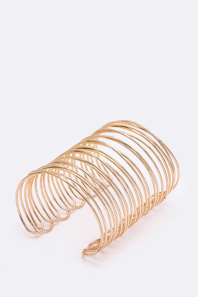 Wired Adjustable Slit Cuff