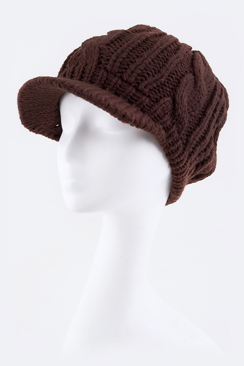 Mix Knit Cap