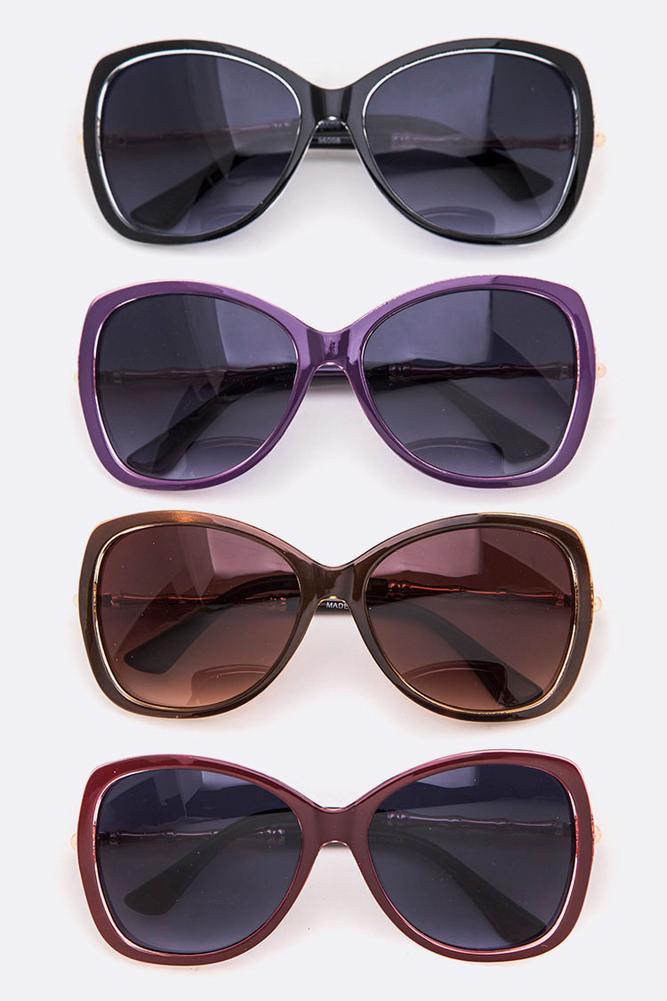 Oversized Cat Eye Fashion Sunglasses