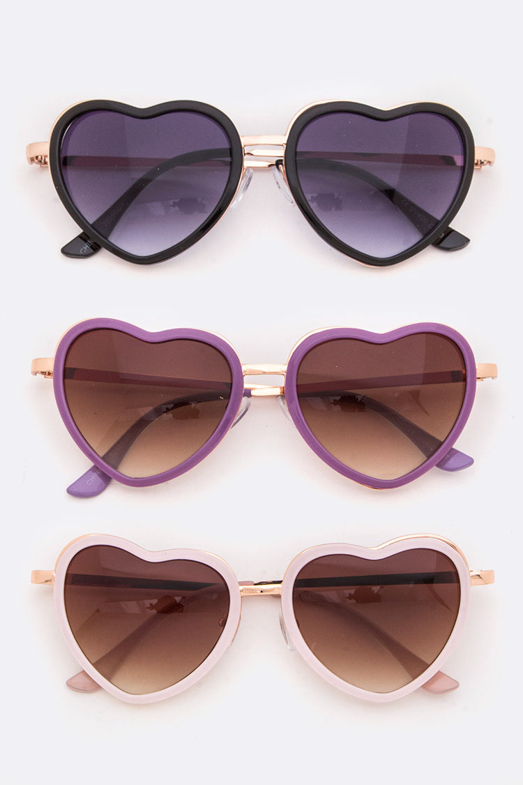 Iconic Heart Sunglasses