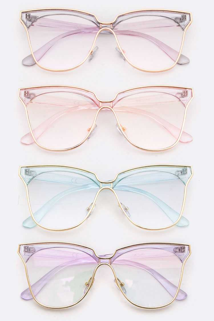 Clear Color Fashion Optical Glasses