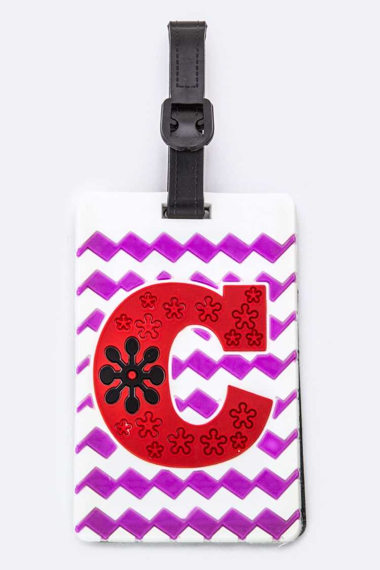 Initial C Jelly Bag & Luggage Tag