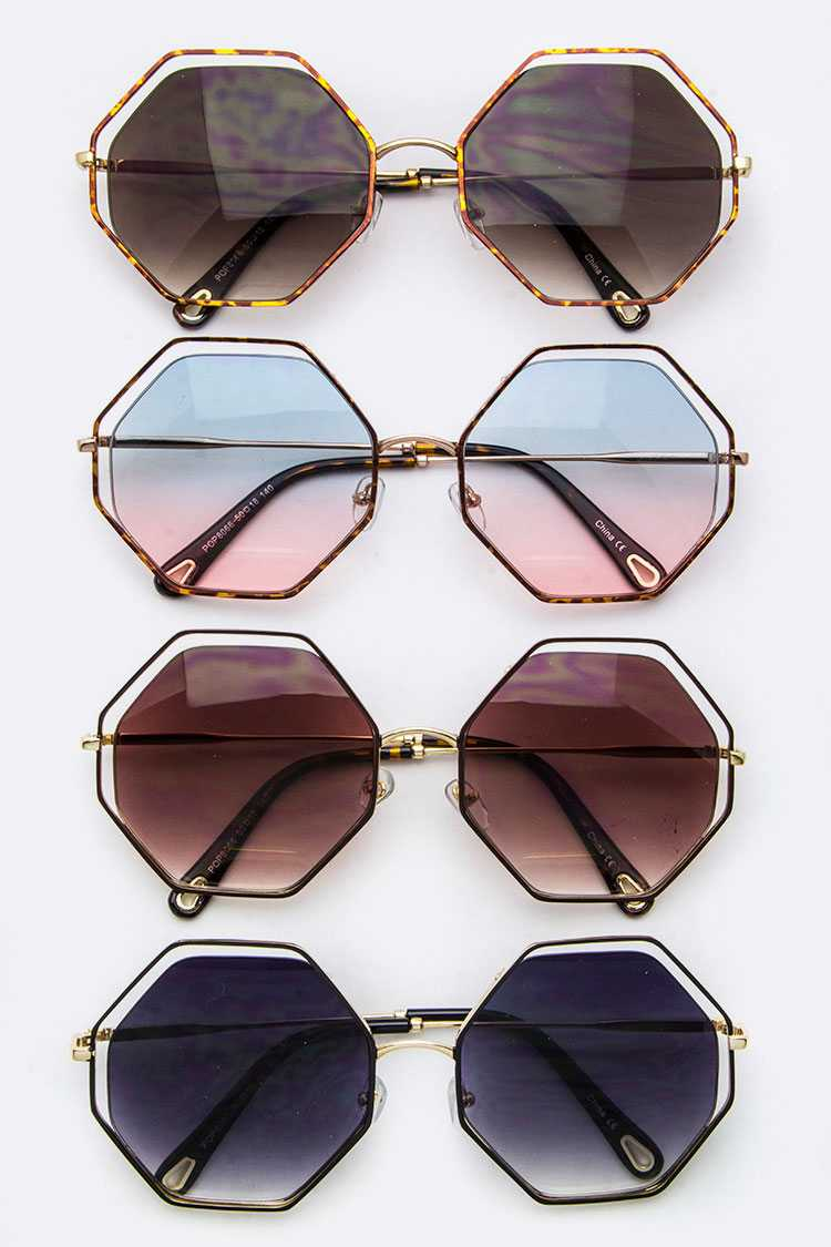 Iconic Rim Octagon Sunglasses