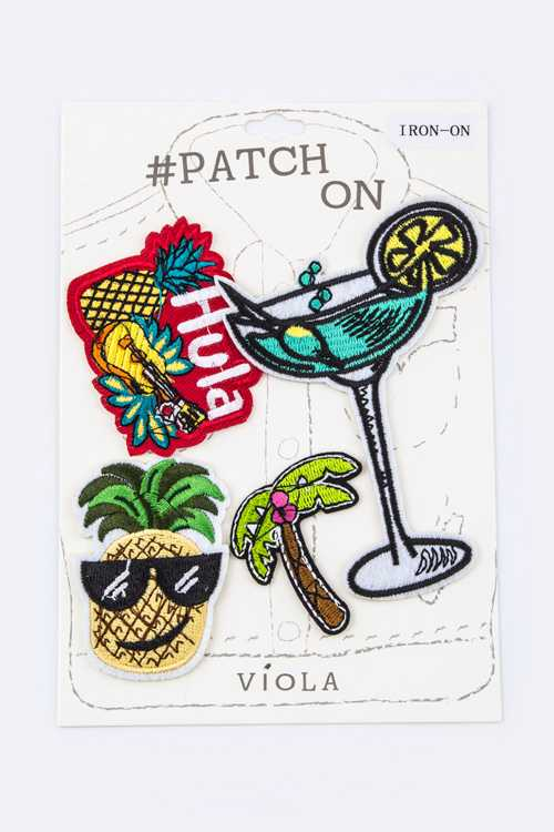 Hawaii Mix Patches Set