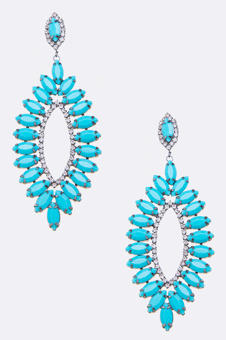 Statement Marquis Iconic Earrings