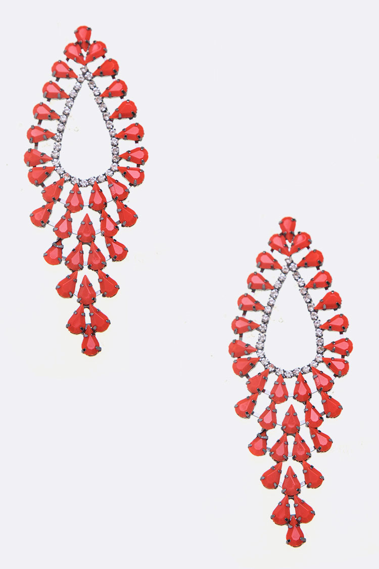 Iconic Jumbo Designed Statement Earrings