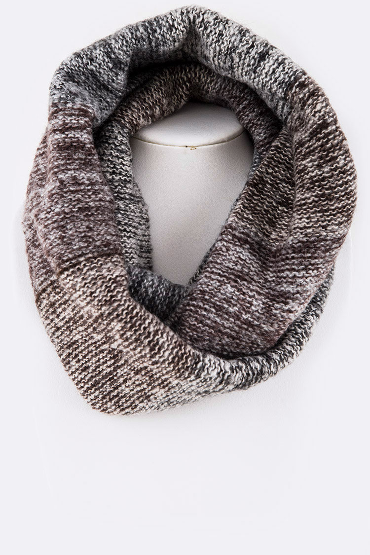 Space Knit Fashion Infinity Scarf