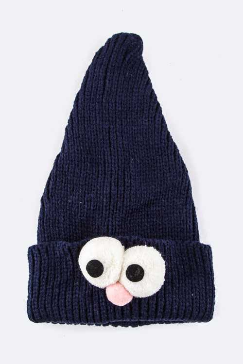 Kids Size Crazy Eyes Beanie