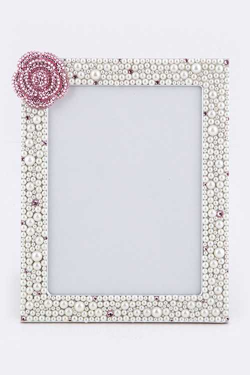 Rose Pearl Large Picture Frame