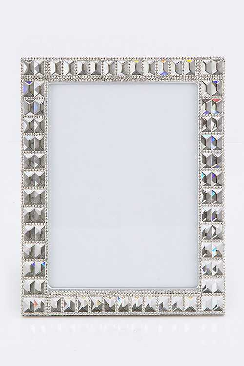 Large Crystal Picture Frame