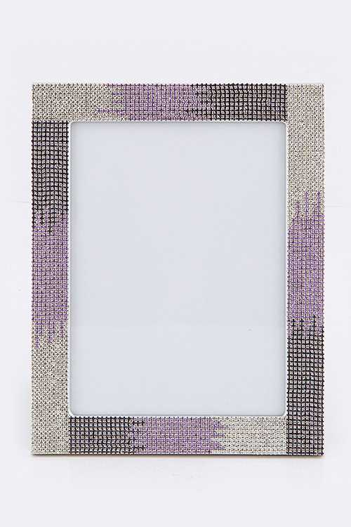 Ombre Crystal Picture Frame