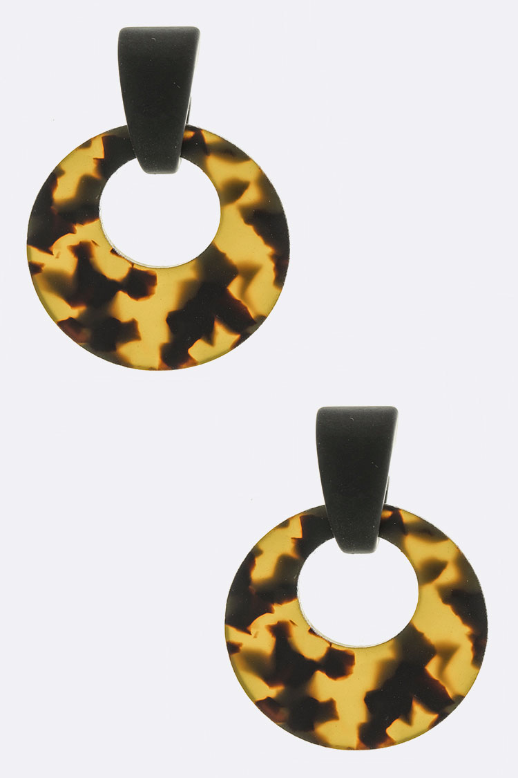 Bakelite Iconic Earrings