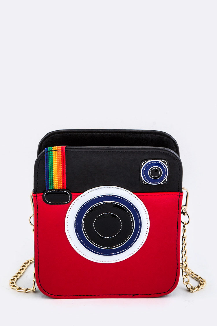 Instant Camera Design Crossbody Bag