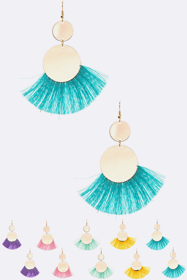 Iconic Tassel Earring Set