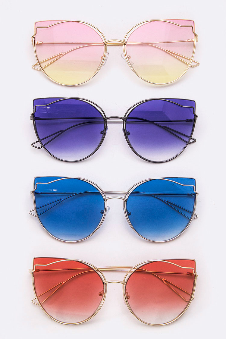 Butterfly Oversize Iconic Sunglasses