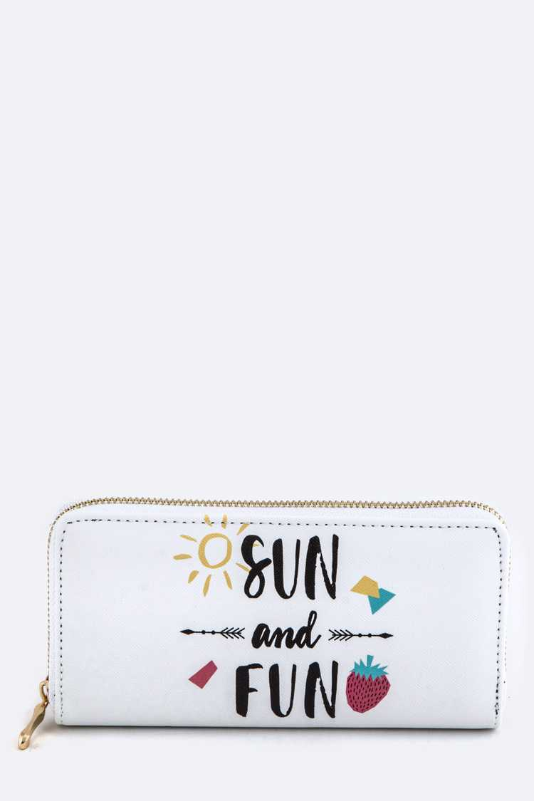 Sun and Fun Wallet