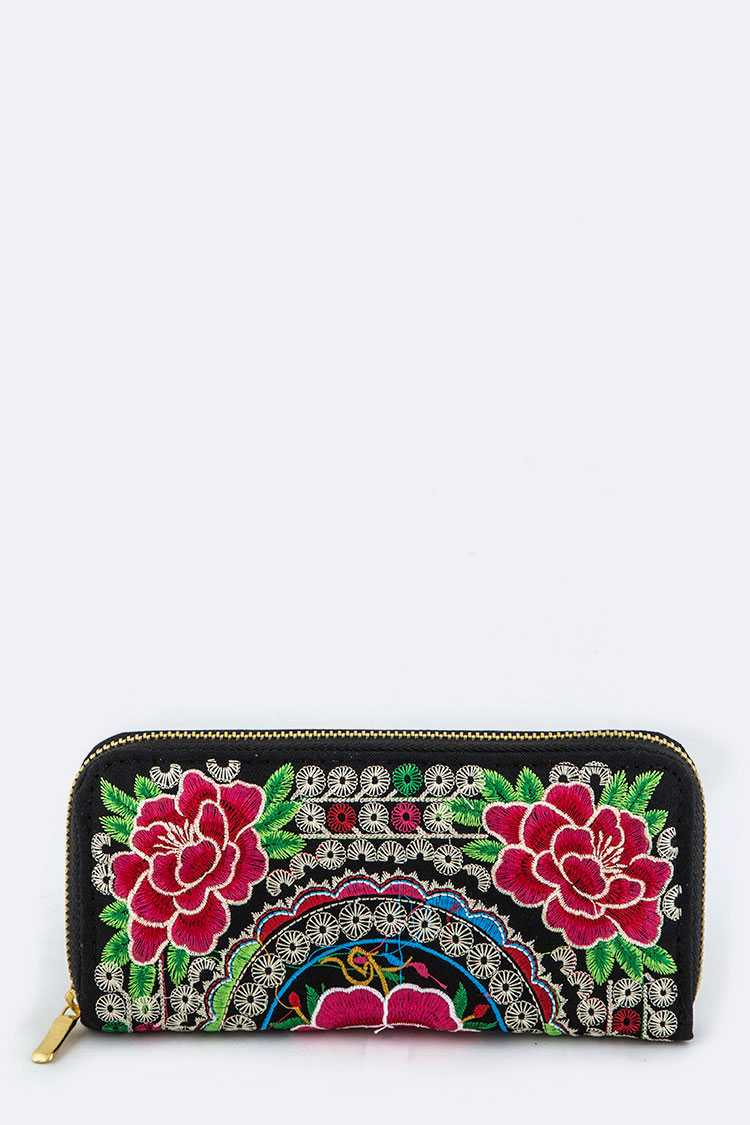 Tibetan Embroidery Wallet