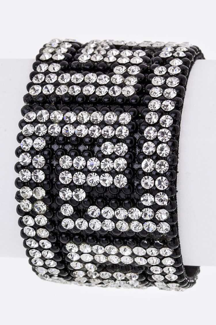 Crystal Adjustable Cuff