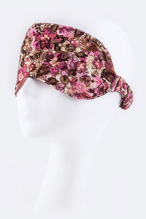 Floral Printed Sleeping Mask