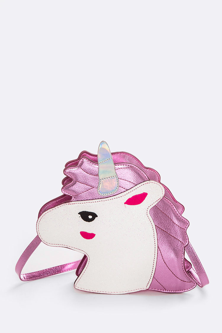 Metalic Unicorn Crossbody Bag