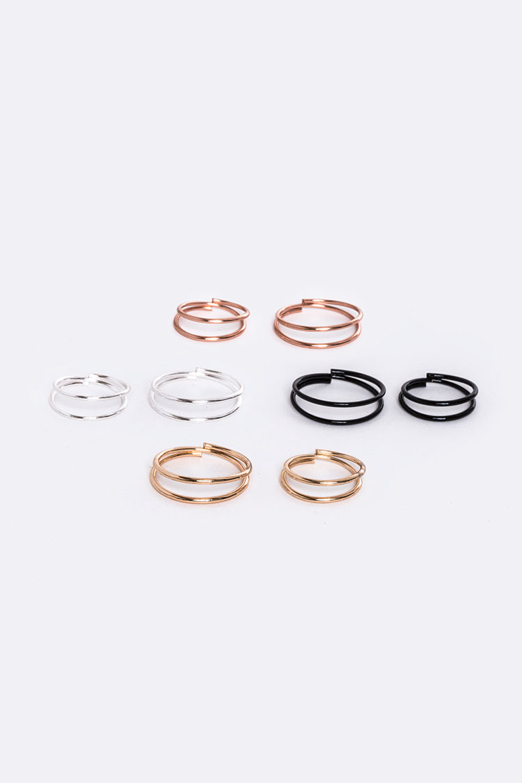 Mix Wire Rings Set