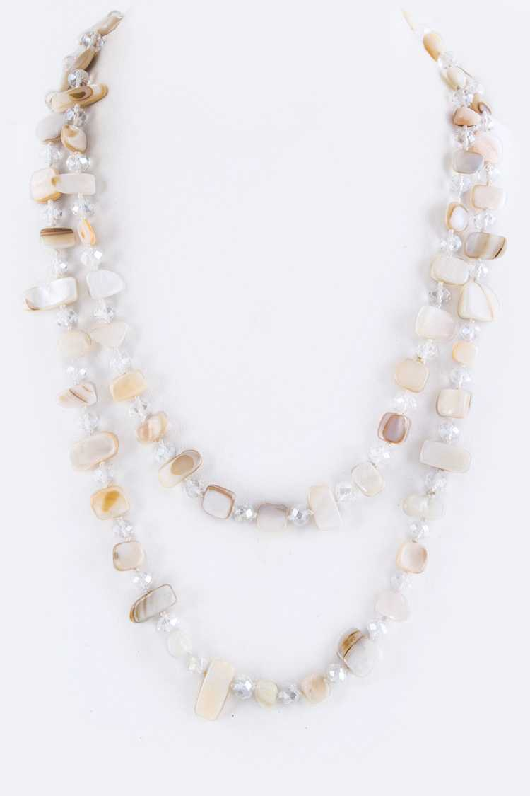 "24"" Mix Beads Necklace"