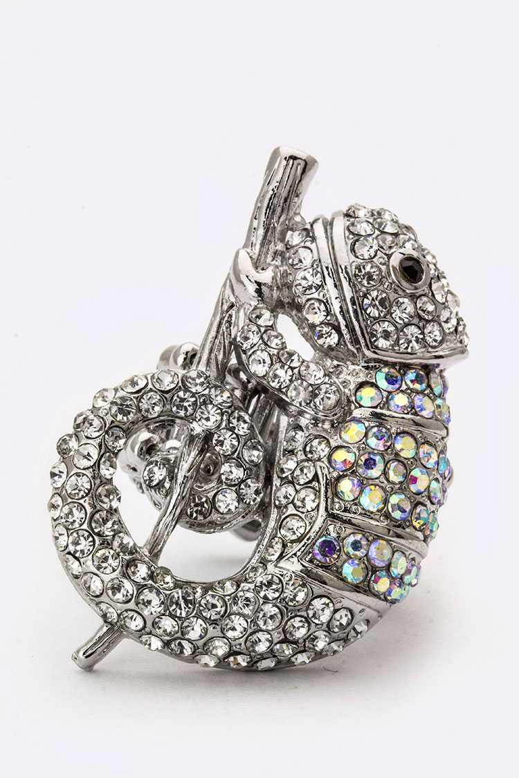 Crystal Camereon Stretch Ring