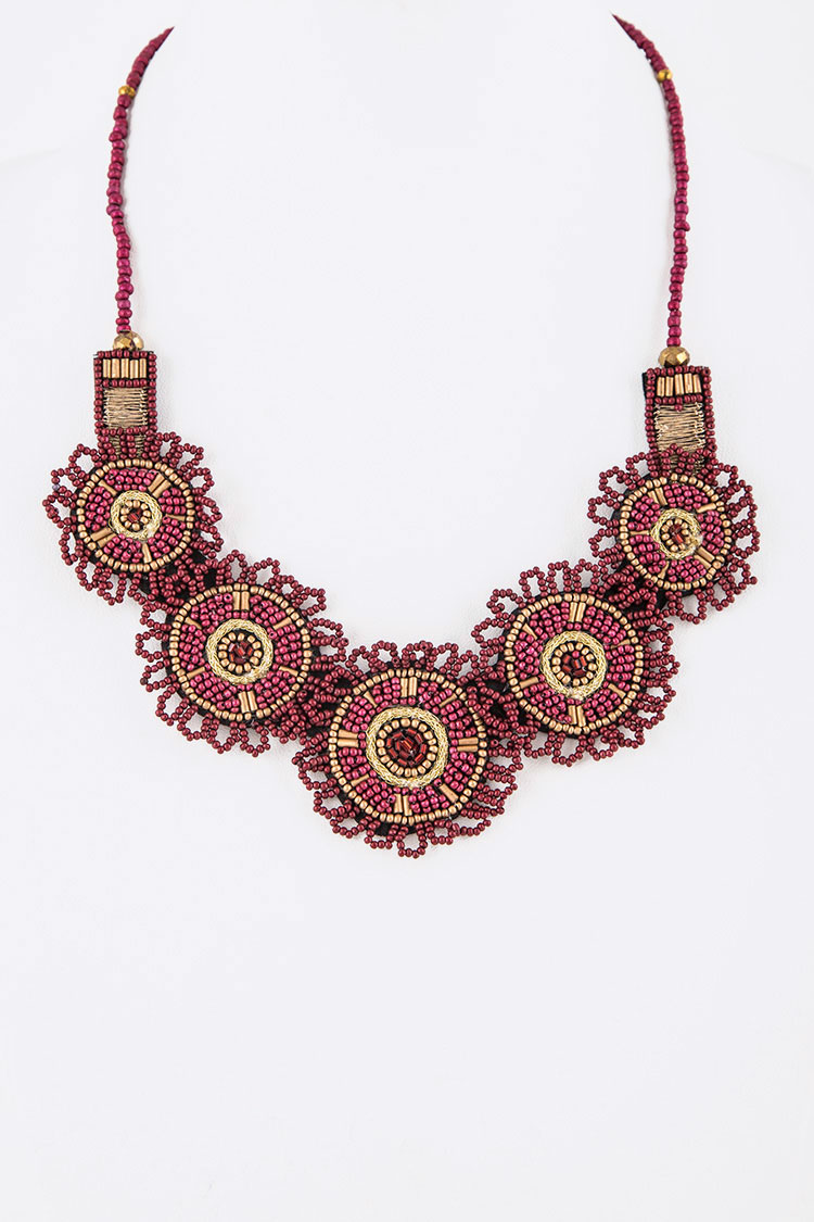 Seed Beads Iconic Necklace