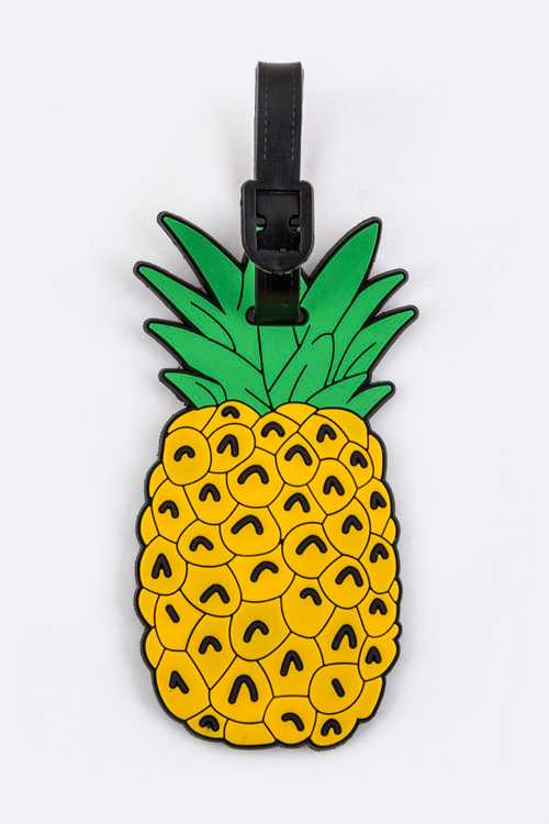 Pineapple Jelly Bag & Luggage Tag