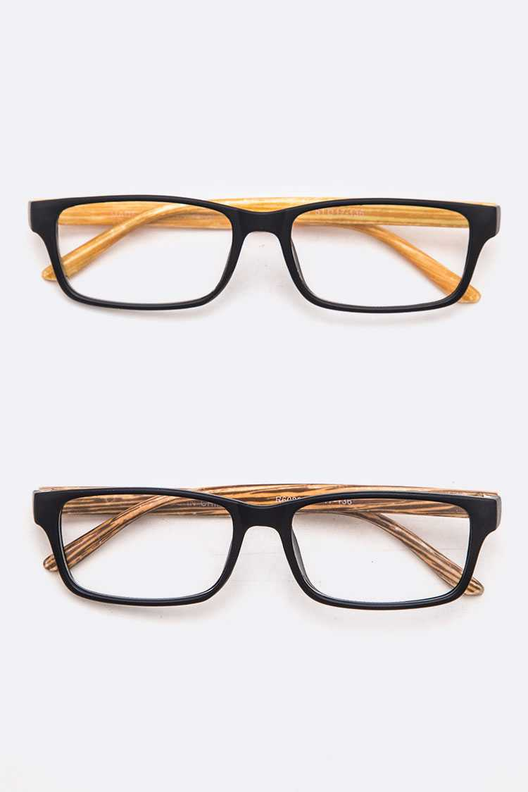 Wooden Temple Reading Glasses Set
