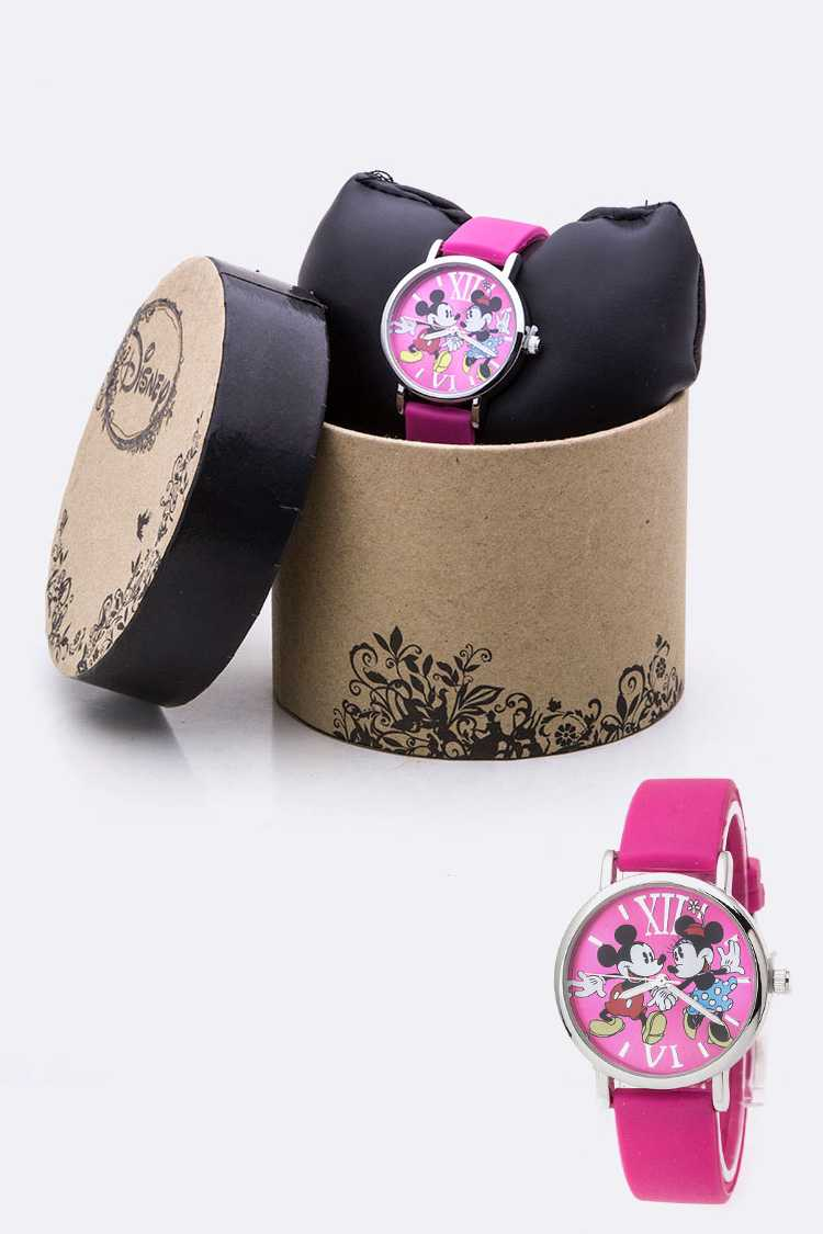 Mickey & Minnie Jelly Watch