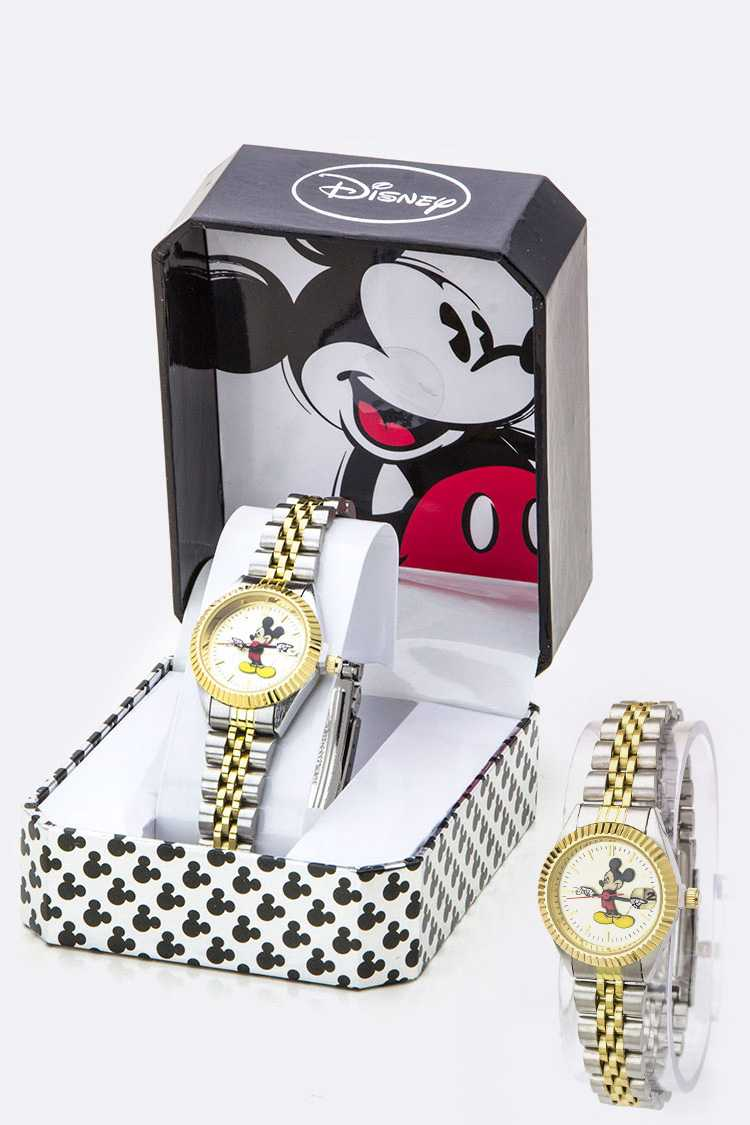 Notched Bezel Micky Watch - SKINNY