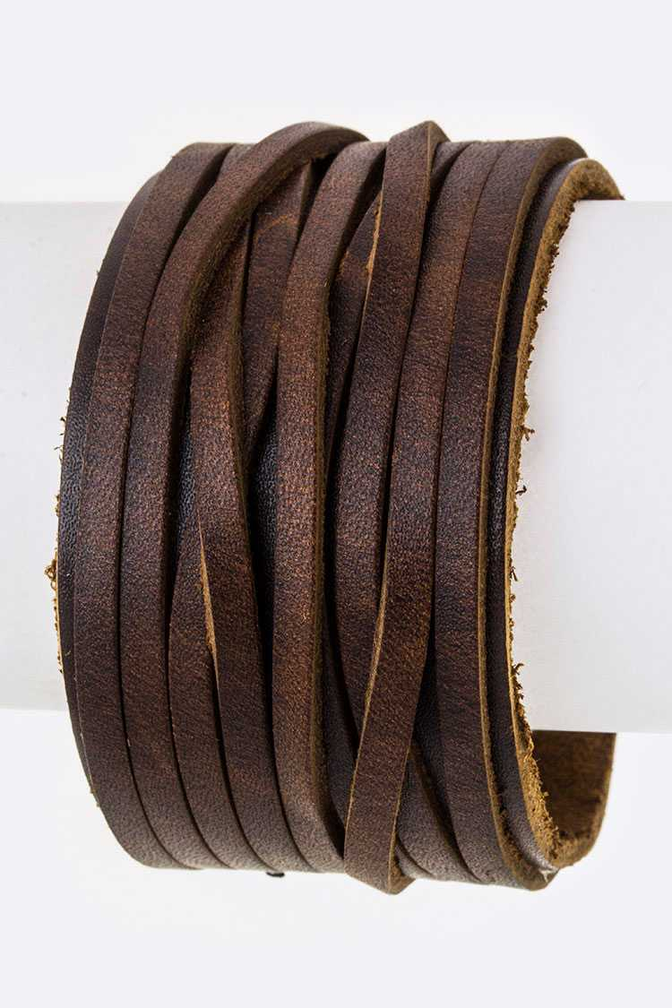 Layer Leather Cuff