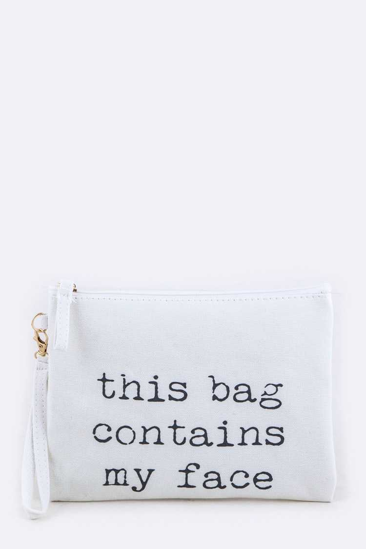 This Bag... Wristlet Pouch
