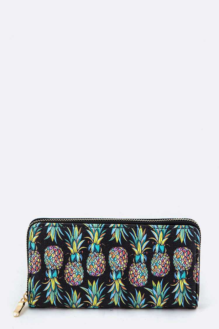 Pineapple Pattern Wallet